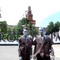 Il trono di spade a Milano: il Castello diventa un set magico per l'anteprima della settima stagione