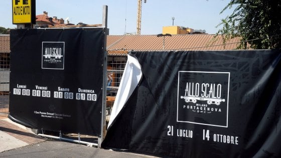 Milano, l'area dell'ex Mercato Metropolitano diventa 'lo Scalo': movida in Porta Genova tra film e street food