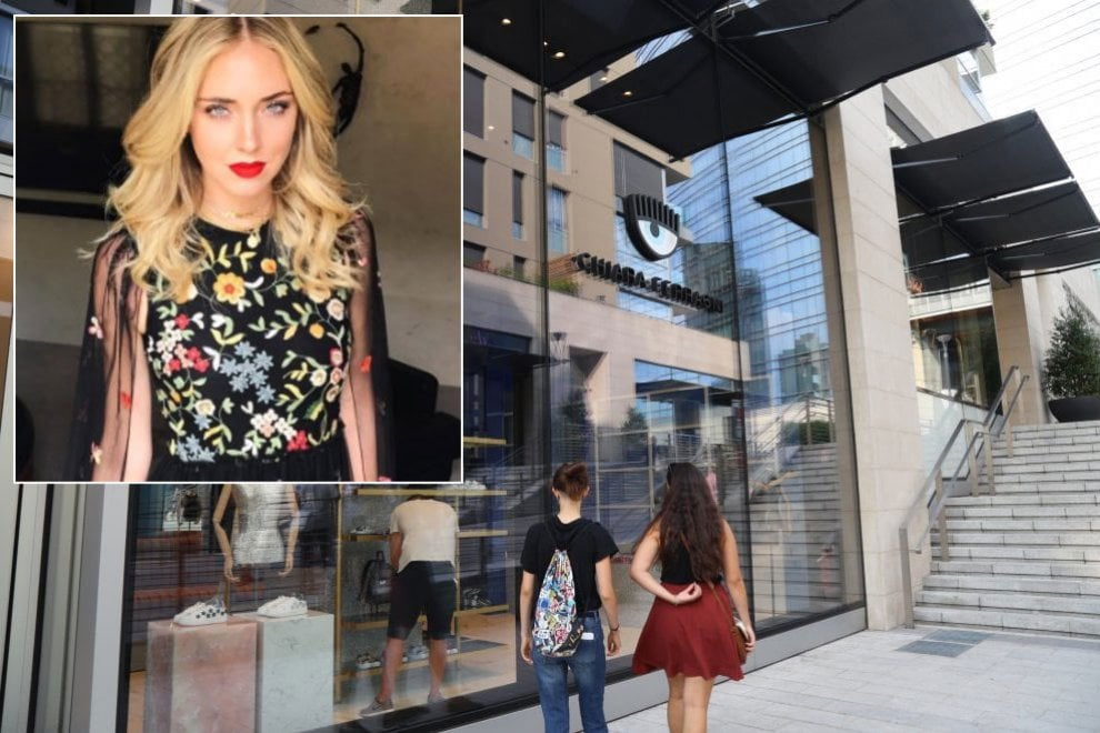 Chiara Ferragni apre il suo primo negozio a Milano: dall'e-commerce alle vetrine di corso Como