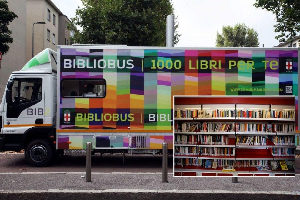 Se tu non vai dai libri i libri vengono da te, 10mila titoli nella nuova biblioteca viaggiante di Milano