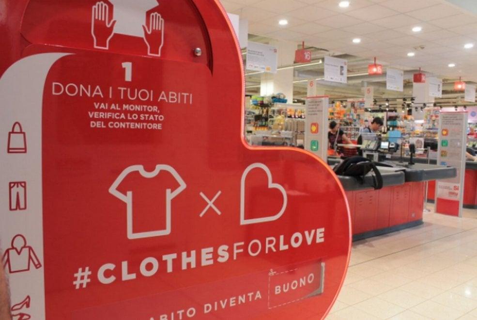'Clothes for Love' a Milano, un abito per uno sconto