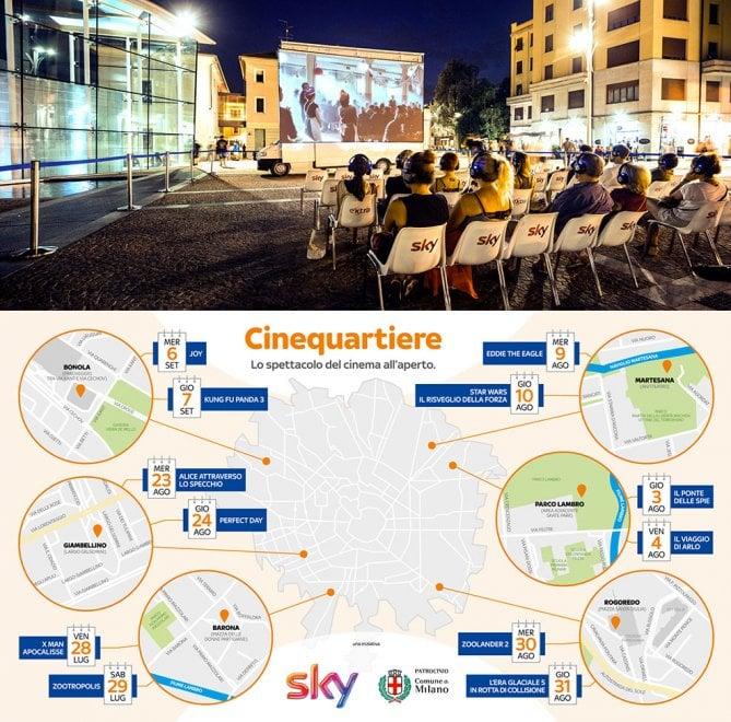 Milano, arriva il cinematografo viaggiante in periferia: silenzioso e tecnologico, si sposta in truck