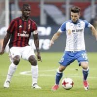 Milan-Craiova, tifosi molesti prima del match a San Siro: daspo immediato per 14
