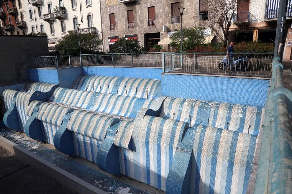 Vandali e degrado, viaggio tra le fontane abbandonate di Milano