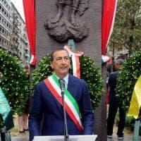 Milano, Sala alla commemorazione in piazzale Loreto: