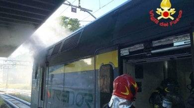 Principio di incendio su locomotore Trenord in Stazione Cadorna: cause da chiarire  foto