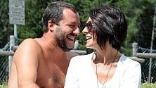Ponte di Legno, Salvini  e Isoardi felici: pic nic e selfie prima del comizio