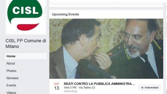 Milano, la foto di Sala e Barbato per l'incontro sui reati contro la PA: la Cisl in Comune costretta al dietrofront