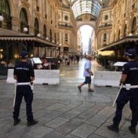 Milano, nuove misure antiterrorismo dopo Barcellona: barriere antifurgoni