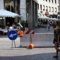 Terrorismo, a Milano centro e movida blindati dalle barriere di calcestruzzo: