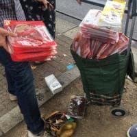 Milano, rivendevano il cibo per i poveri: distribuito dall'associazione, finiva nel mercatino illegale