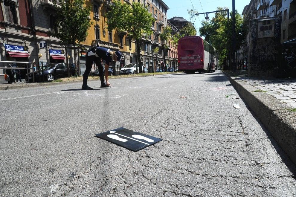 Milano, pullman per Malpensa investe un pedone: il luogo dell'incidente