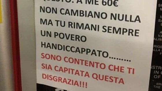 """Insulti al disabile dell'automobilista multato, la procura di Monza apre un'inchiesta: """"Diffamazione aggravata"""""""