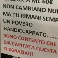 Insulti al disabile sul cartello dell'automobilista multato, caccia al responsabile:...