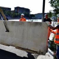 Terrorismo: ecco le barriere in Darsena, poi anche in Montenapoleone. Sì all'appalto per i...
