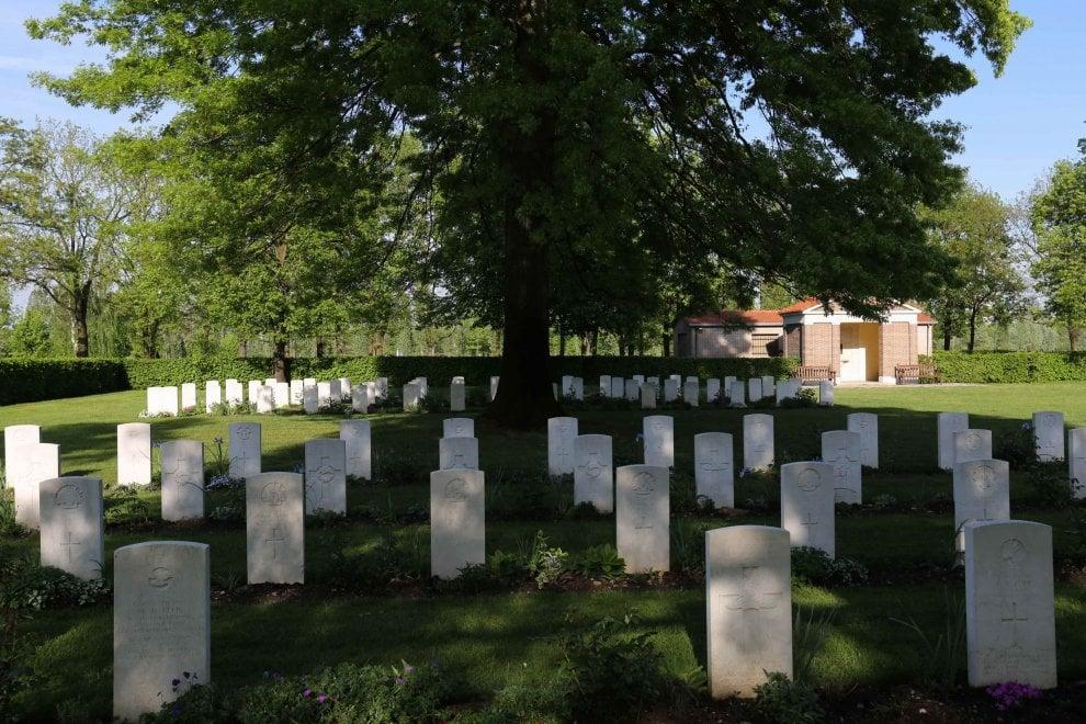 Milano, il cimitero di guerra inglese vicino al parco di Trenno