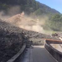 Svizzera, la Val Bregaglia al confine con la Lombardia devastata da una