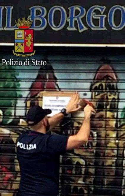 Milano, sospesa per 7 giorni licenza al locale Borgo Caffè