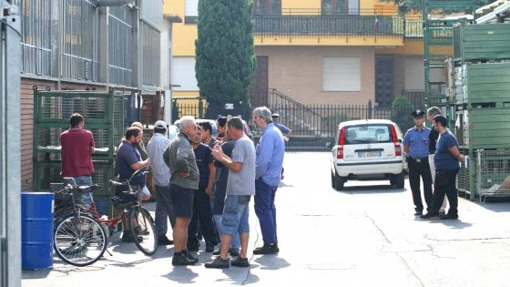 Milano, operaio muore sotto una pressa