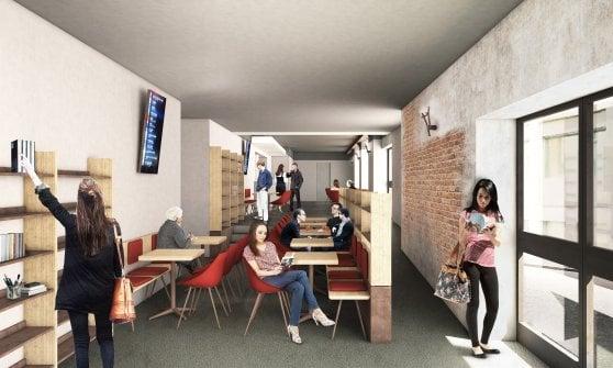 Milano, il nuovo formato dell'Anteo: da cinema a villaggio multimediale con film sul divano, nursery, proiezioni per i gourmet