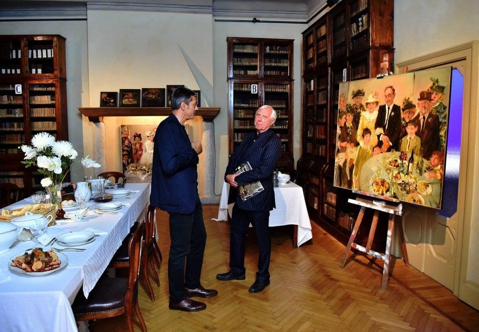 Milano, Greenaway a Casa Manzoni tra le opere di Giancarlo Vitali