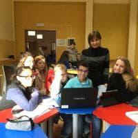 Mantova, scuola d'eccellenza tra aule feng-shui, pareti colorate e tanta tecnologia