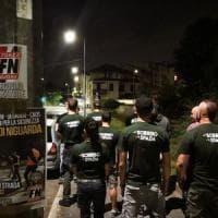 Milano, la ronda di Forza Nuova nel quartiere dove è stata violentata un'anziana