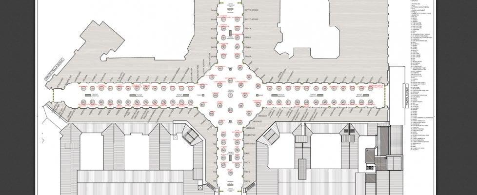 Samsung, Chanel, Inter e tanti altri: la mappa dei tavoli e il menu per i 150 anni della Galleria