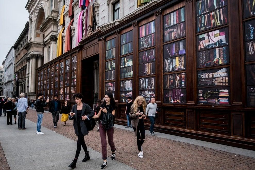 Milano xl quando la moda si fa arte e arreda la citt for Arreda durante