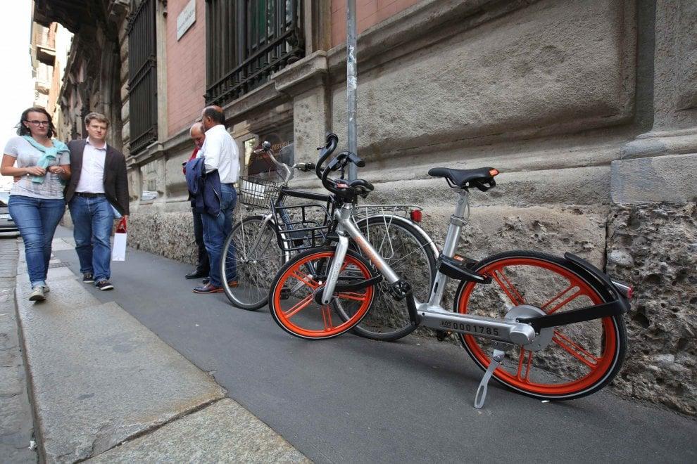 Bike sharing libero anche troppo a milano sos parcheggi for Mobile milano bike sharing