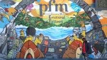 Un murale svela la cover:  la PFM è ritornata