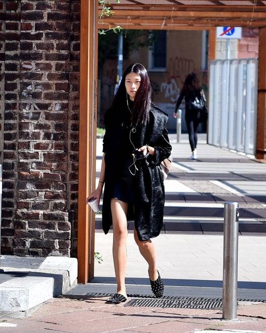 Fashion Week A Milano Modelle A Caccia Di Casting La Corsa Per Un Posto In Passerella 1 Di 1