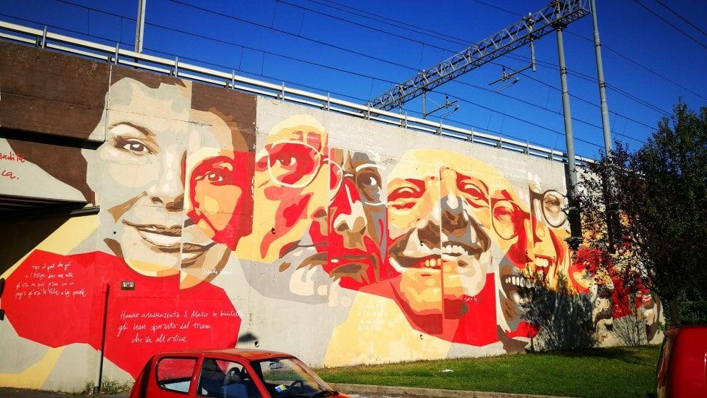 Milano venti maxi murales trasformano l 39 ortica in un for Ristorante murales milano