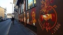 Venti maxi murales  trasformano l'Ortica  in un quartiere museo