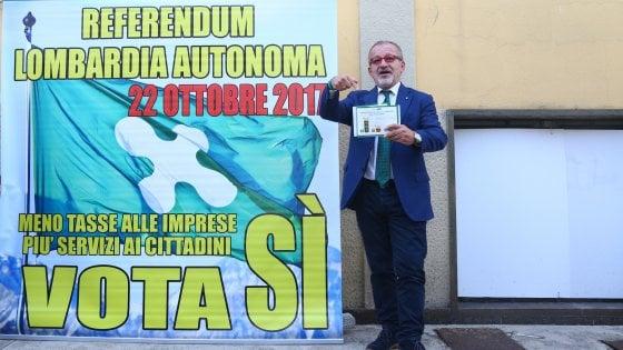 Referendum autonomia in Lombardia: altri 1,7 milioni per la nuova ondata di spot della Regione