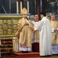 Milano, l'insediamento del nuovo arcivescovo: Mario Delpini sulla cattedra