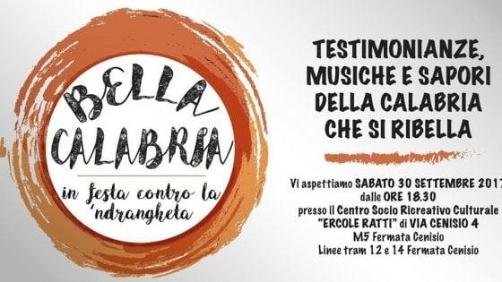Mafia, il 30 settembre a Milano la prima festa anti-'ndrangheta