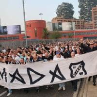Milan-Rijeka, disordini allo stadio Meazza: fermati tifosi croati