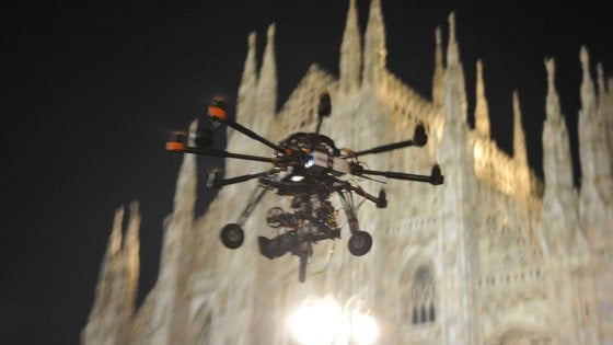 Milano, un drone alla polizia locale per controllare meglio il territorio