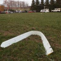 Brescia, ultraleggero precipita e s'incendia: pilota carbonizzato