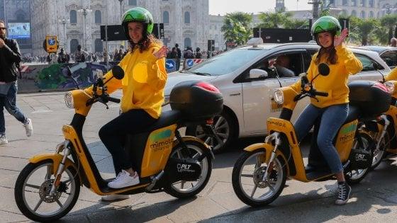A Milano torna lo scooter sharing: la flotta MiMoto all'insegna della leggerezza