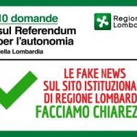 Fake news e referendum Lombardia, Gori attacca Maroni: