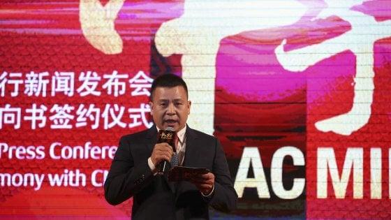 Il Milan direttamente dalla Cina ufficializza Alpenwater come sponsor