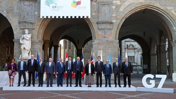 """G7 Agricoltura, approvata la Carta di Bergamo: """"Zero fame entro il 2030"""""""