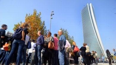 In migliaia per la torre Hadid a Citylife: il successo spiazza il Fai