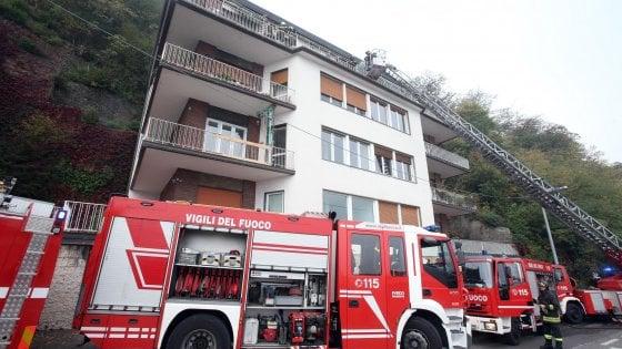 Incendio in casa a Como: muore il padre, gravissimi quattro bambini