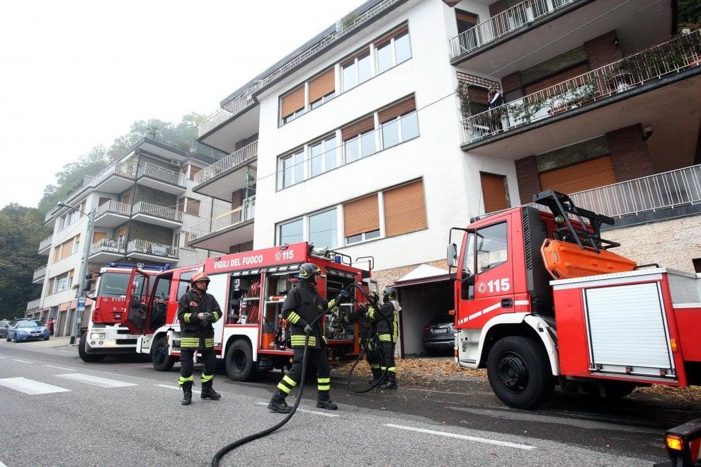 Como, padre incendia la casa: muore con i suoi 4 figli