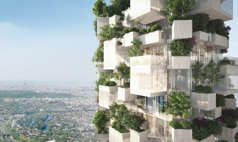 Un Bosco Verticale anche a Parigi: 2mila alberi per la Foret Blanche