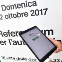 Autonomia, anche la stampa catalana segue il referendum. Pd: il 4% dei tablet