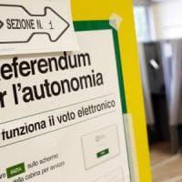 Referendum autonomia, affluenza alle 12: in Lombardia al 10%, il doppio